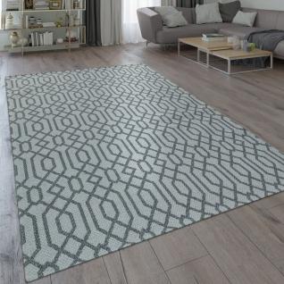 Teppich Wohnzimmer Skandinavischer Stil Modern Grau Beige