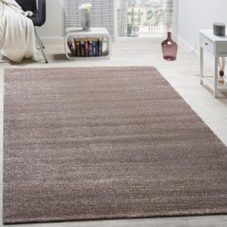 Designer Teppich Frieze Teppiche Luxuriös Schimmer Glanzeffekt In Uni Beige - Vorschau 1