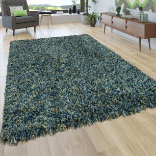 Hochflor Teppich Shaggy Grau Beige Blau Rosa Anthrazit Wohnzimmer Weich Robust - Vorschau 5