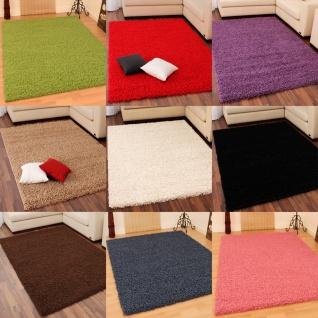 Hochflor Shaggy Langflor Teppich verschiedene Farben u. Grössen - Vorschau 1