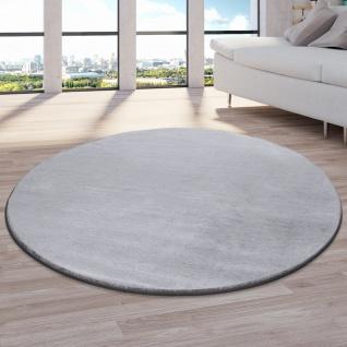 Teppich Fellteppich Kunstfell Wohnzimmer Hochflor Shaggy Flauschig Weich Plüsch, Grau - Vorschau 3