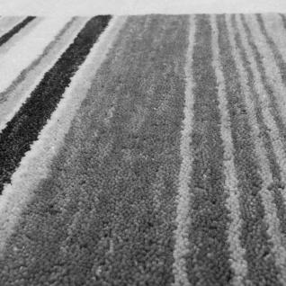Teppich Handgewebt Gabbeh Hochwertig 100% Wolle Neu Meliert Bordüre Hellgrau - Vorschau 3