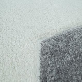 Kinder-Teppich, Moderner Spiel-Teppich Für Kinderzimmer, Mit Stern-Motiv In Grau - Vorschau 3