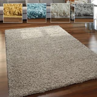 Hochflor Teppich Wohnzimmer Shaggy Langflor Weich Flauschig Modern Einfarbig