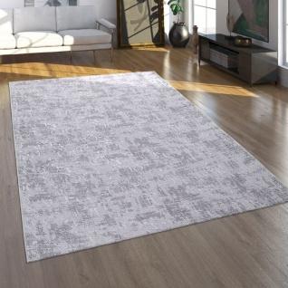 Teppich, Kurzflor-Teppich Für Wohnzimmer Im Orient-Look, Waschbar, In Grau