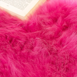 Australisches Lammfell Naturfell Bettvorleger Echtes Schaffell In Pink - Vorschau 3