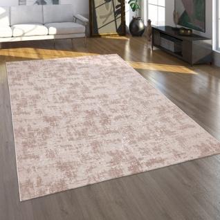 Teppich Wohnzimmer Kurzflor Modernes Orientalisches Muster Waschbar Beige