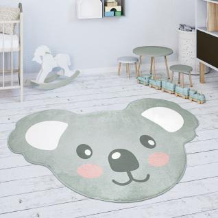 Kinderteppich Teppich Kinderzimmer Spielmatte Babymatte Koala Tier Motiv Grau