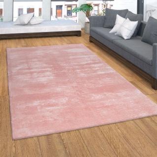 Teppich, Kurzflor-Teppich Für Wohnzimmer, Super Soft, Weich, Waschbar, In Rosa
