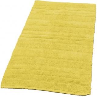 Badematte Badezimmermatte Einfarbig Badteppich Baumwolle Badezimmerteppich Gelb