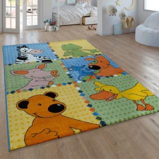Kinder-Teppich Die Lieben Sieben, Kurzflor-Teppich Für Kinderzimmer, In Bunt