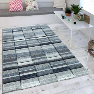 Maritimer Teppich wohnzimmer teppich modern blau grau pastell trend skandinavisch