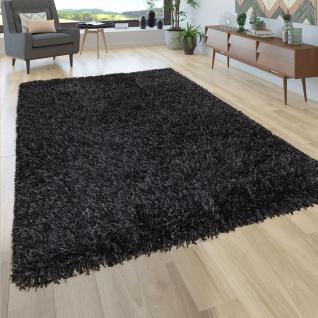 Hochflor Teppich Shaggy Grau Beige Blau Rosa Anthrazit Wohnzimmer Weich Robust - Vorschau 2