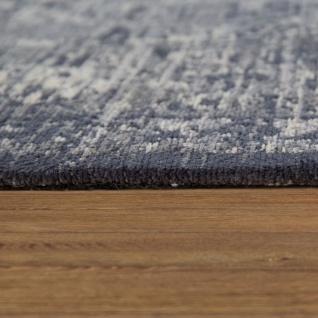 Orient Kurzflor Teppich Wohnzimmer Used-Look Orientalisches Design In Anthrazit - Vorschau 2