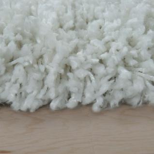 Hochflor Teppich Wohnzimmer Weiß Soft Weich Shaggy Robust Flauschig Kuschelig - Vorschau 2