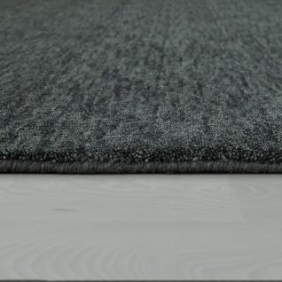 Teppich Handgeknotet Gabbeh Hochwertig 100% Wolle Dezent Meliert Anthrazit - Vorschau 2