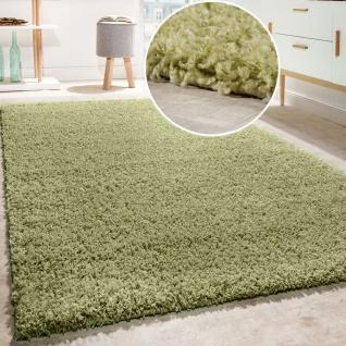 Shaggy Teppich Hochflor Langflor Teppiche Hochwertig Pastell Uni Versch. Farben - Vorschau 2