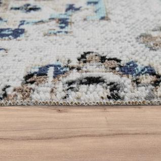 In- & Outdoor Teppich Modern Orient Design Terrassen Teppich Grau - Vorschau 2