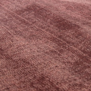 Teppich Handgefertigt Hochwertig 100% Viskose Vintage Optisch Meliert Blush Rosa - Vorschau 2