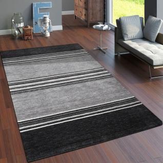 Teppich Handgewebt Gabbeh Qualität 100% Wolle Dezent Meliert In Grau