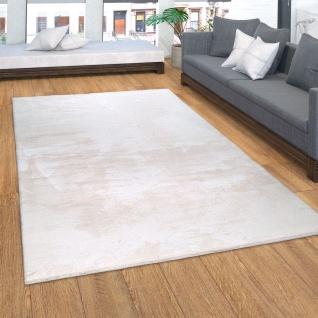 Teppich, Kurzflor-Teppich Für Wohnzimmer, Soft, Weich, Waschbar, In Beige