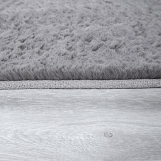 Hochflor-Teppich, Shaggy-Teppich Für Wohnzimmer, Weich Einfarbig in Versch. Größen und Farben - Vorschau 3