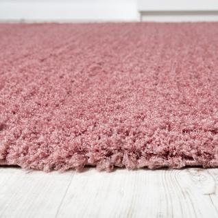 Shaggy Teppich Micro Polyester Wohnzimmer Teppiche Elegant Hochflor Pink - Vorschau 2