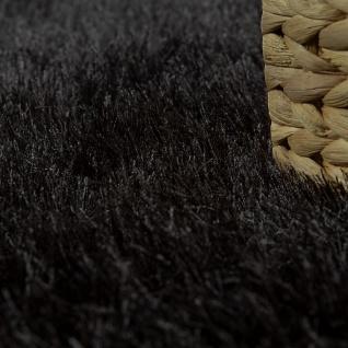 Hochflor Teppich Wohnzimmer Shaggy, Pastell Farben, Weicher Soft Garn, Einfarbig - Vorschau 3