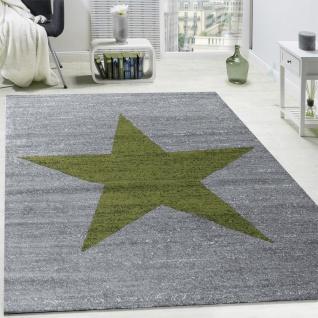Wohnzimmer Teppich Mit Stern Muster, Moderner Kinder- und Jugendzimmer Kurzflor - Vorschau 5
