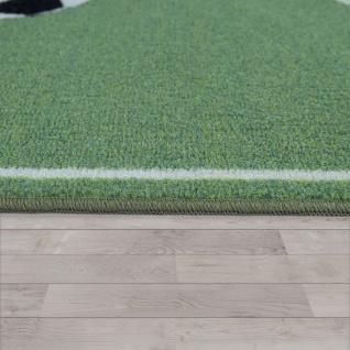 Kinder-Teppich, Spiel-Teppich Für Kinderzimmer Mit Fußball-Design, In Grün - Vorschau 2