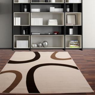 Moderner Designer Teppich Creme Ivory Beige Neu*OVP - Vorschau 1
