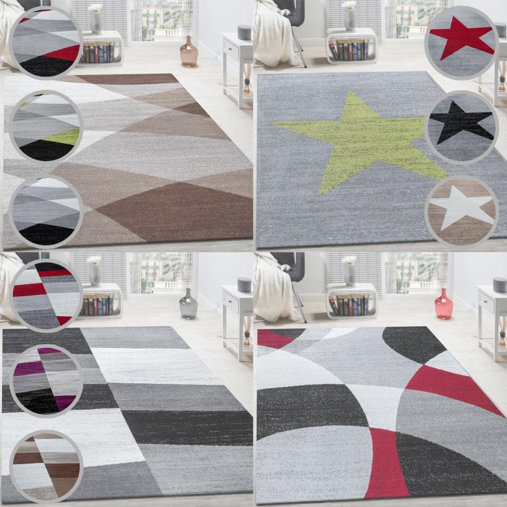 Designer Teppich Modern Freese Teppiche Geometrische Designs In Versch.