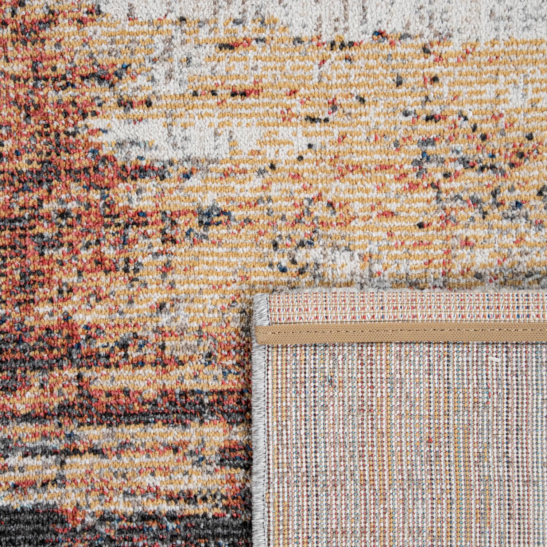 Outdoor Teppich Balkon Terrasse Vintage Küchenteppich Muster Abstrakt Beige  Creme