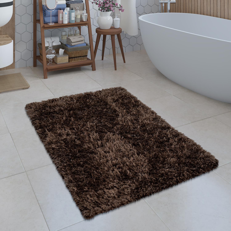 Moderne Badematte Badezimmer Teppich Shaggy Kuschelig Weich ...