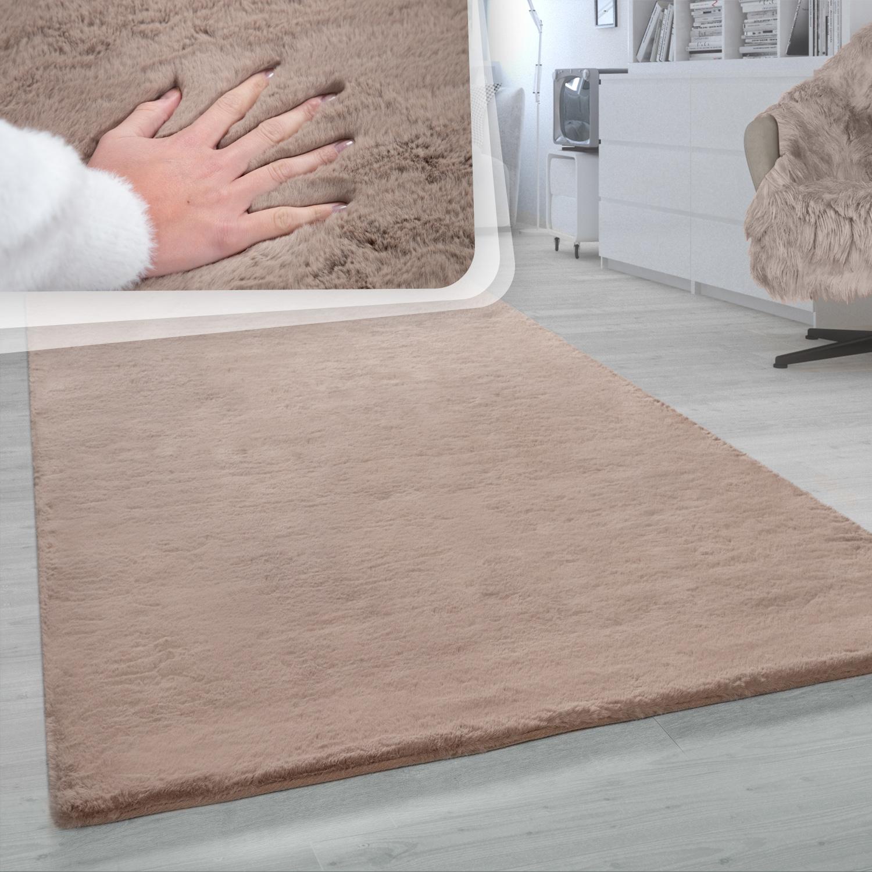 Mobel Wohnen In Dunkelgrau Hochflor Teppich Weich Einfarbig Shaggy Teppich Fur Wohnzimmer Teppiche Metagal Com Br