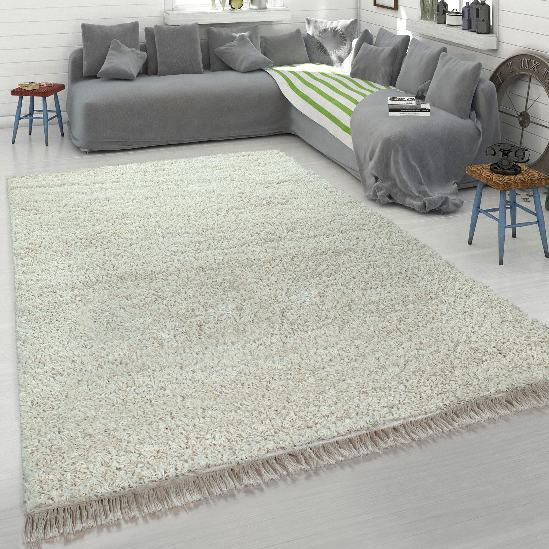 Shaggy Teppich Beige Wohnzimmer Schlafzimmer Hochflor Weich Robust Gemutlich Kaufen Bei Diva Teppich Center