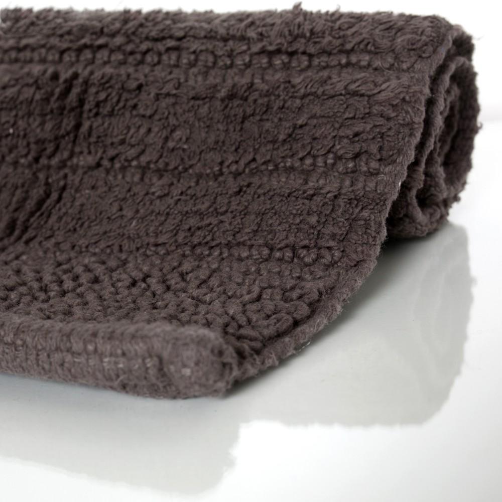 Badematte Badteppich Badezimmerteppich Aus Baumwolle Einfarbig In