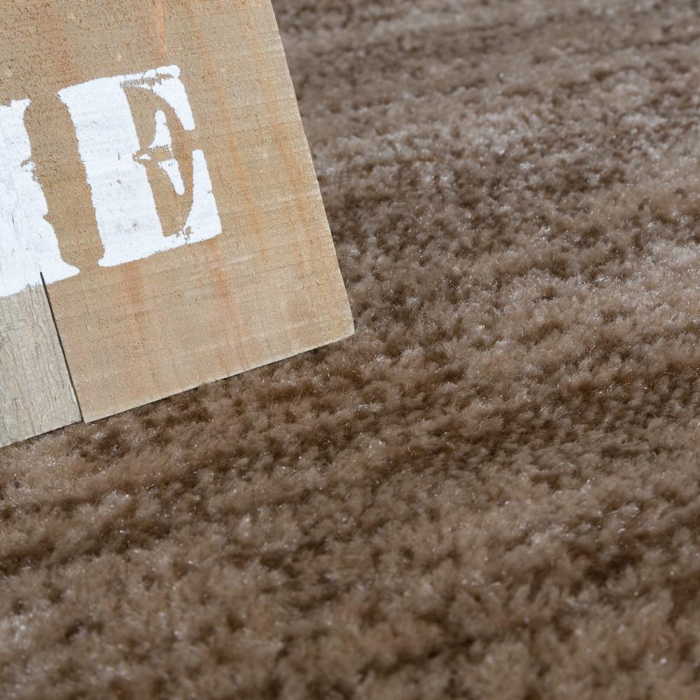 Wohnzimmer Teppich Bordüre Kurzflor Meliert Modern Hochwertig ...