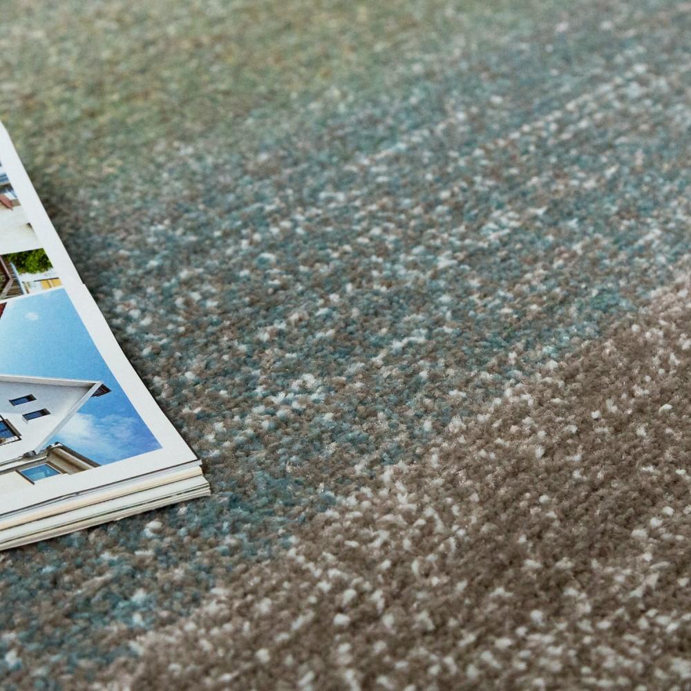designer teppich modern wohnzimmer farbverlauf streifen muster pastell gr n blau creme kaufen. Black Bedroom Furniture Sets. Home Design Ideas