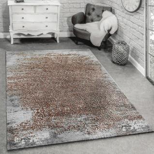 Designer Teppich Modern Wohnzimmerteppich Mit Muster Ornamente Grau Beige