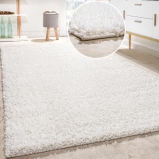 Shaggy Teppich Hochflor Langflor Teppiche Hochwertig Pastell Uni Versch. Farben - Vorschau 5