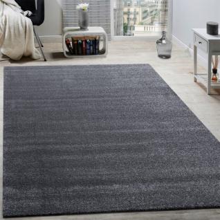 Designer Teppich Frieze Teppiche Luxuriös Schimmer Glanzeffekt In Uni Anthrazit