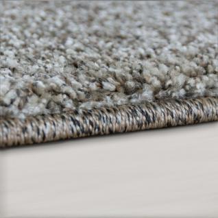 Designer Teppich Wohnzimmer Webteppich Geometrische Muster Webteppich Grau Creme - Vorschau 2