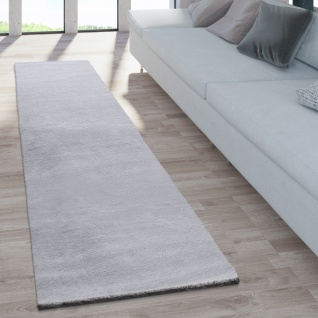 Teppich Fellteppich Kunstfell Wohnzimmer Hochflor Shaggy Flauschig Weich Plüsch, Grau - Vorschau 4