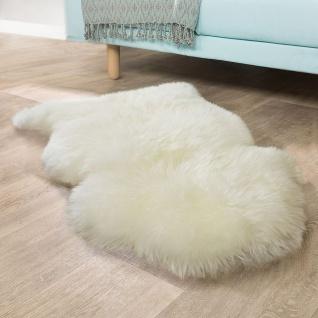Australisches Lammfell Naturfell Bettvorleger Echtes Schaffell In Naturweiß