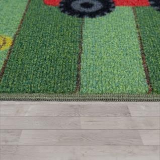 Kinder-Teppich, Spiel-Teppich Für Kinderzimmer, Landschaft und Pferde, In Grün - Vorschau 2