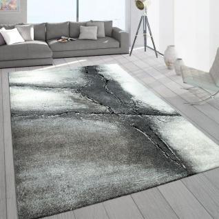 Edler Designer Teppich Wohnzimmer Natur Asphalt Optik Natur Braun Beige Creme