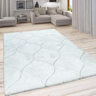 Hochflor Teppich, Kuscheliger Wohnzimmer Pastell Shaggy, 3D Muster m. Soft Garn - Vorschau 2
