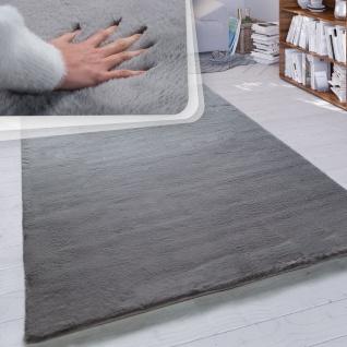 Hochflor-Teppich, Shaggy-Teppich Für Wohnzimmer, Weich Einfarbig in Versch. Größen und Farben - Vorschau 2
