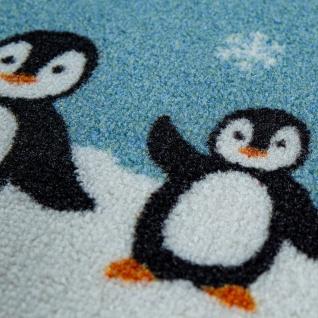 Kinder-Teppich Für Kinderzimmer, Spiel-Teppich, Weltkarte Mit Tieren, In Grün - Vorschau 3